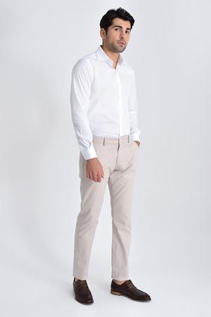 Hatem Saykı - Ekru Slim Fit Spor Pantolon (1)