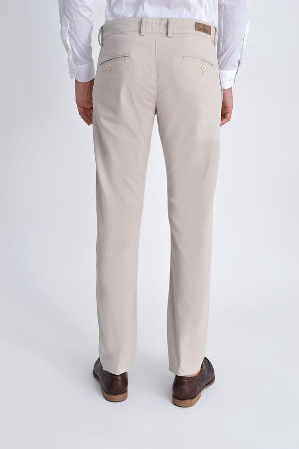 Ekru Slim Fit Spor Pantolon