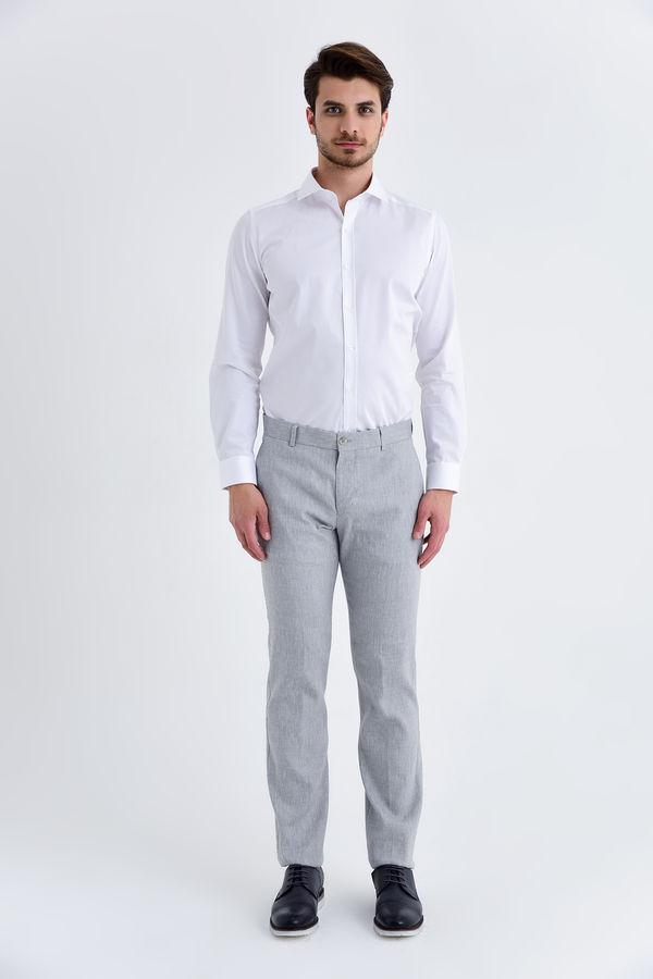 HATEMOĞLU - Gri Regular Pantolon (1)