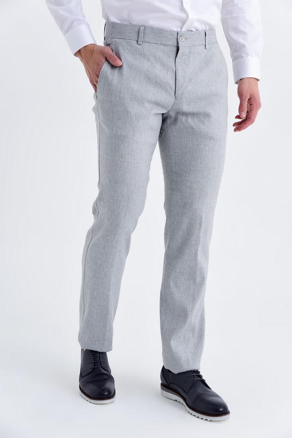 HATEMOĞLU - Gri Regular Pantolon
