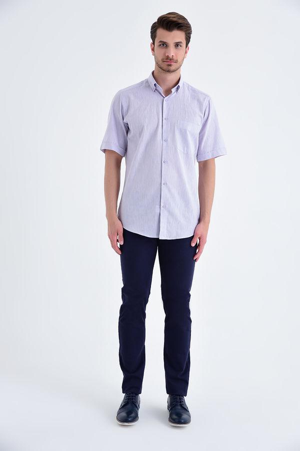 HATEMOĞLU - Lila Regular Gömlek (1)