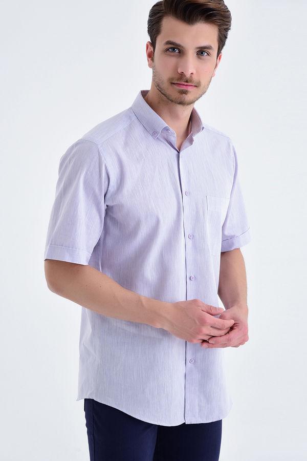 HATEMOĞLU - Lila Regular Gömlek