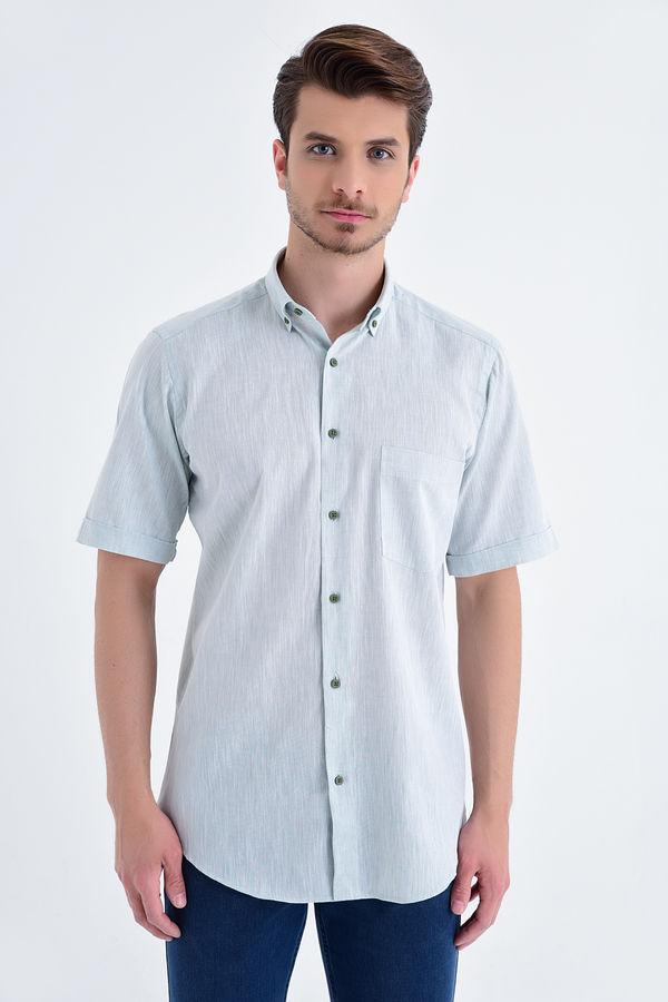HATEMOĞLU - Yesil Regular Gömlek