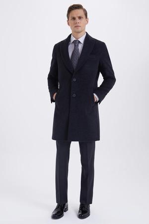 HATEM SAYKI - Antrasit Regular Palto (1)