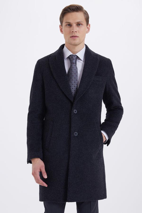 HATEM SAYKI - Antrasit Regular Palto