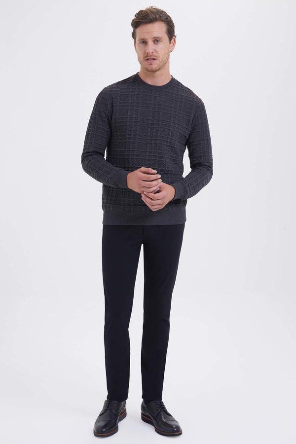 HTML - Antrasit Slim Fit Sweatshirt (1)