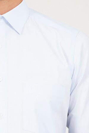 Klasik Buz Mavisi Gömlek - Thumbnail