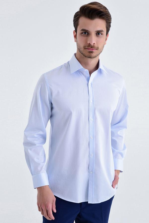 HATEM SAYKI - Mavi Regular Gömlek