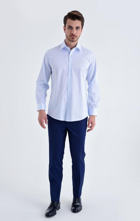 HATEM SAYKI - Mavi Regular Gömlek (1)