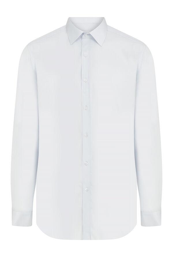 Hatemoğlu - B. Mavi Pure Basic Regular Gömlek