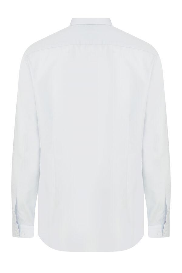 Hatemoğlu - B. Mavi Pure Basic Regular Gömlek (1)