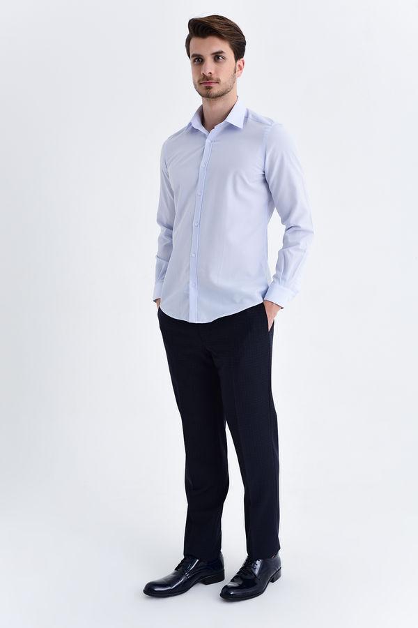 HATEMOĞLU - Mavi Slim Fit Gömlek (1)
