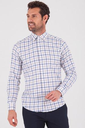 Hatemoğlu - Bej Regular Gömlek