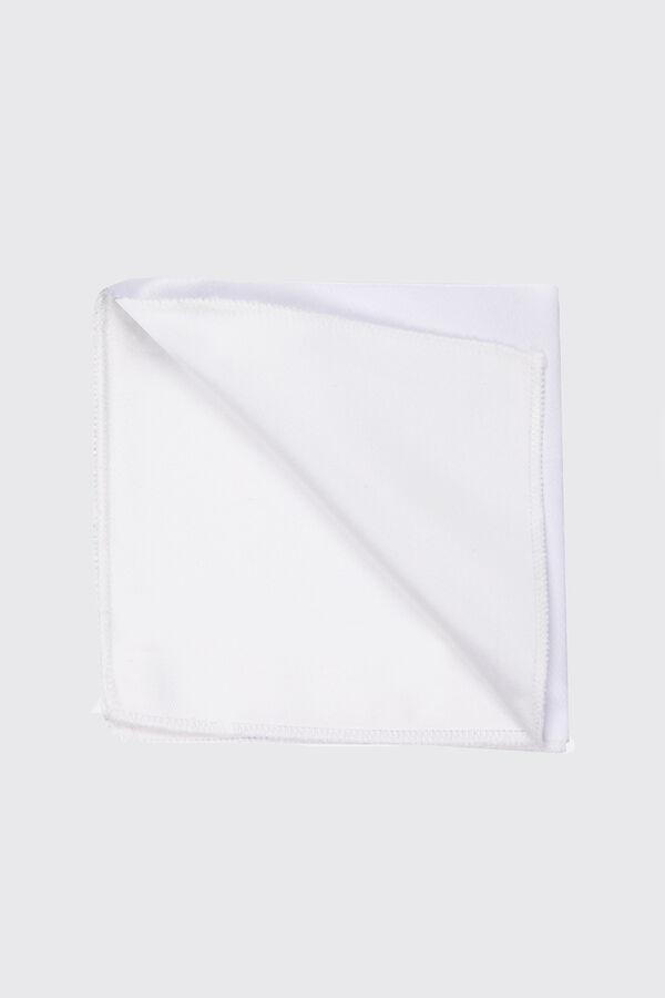 HATEM SAYKI - Beyaz 1 Tanımsız Kravat / Papyon / Mendil (1)