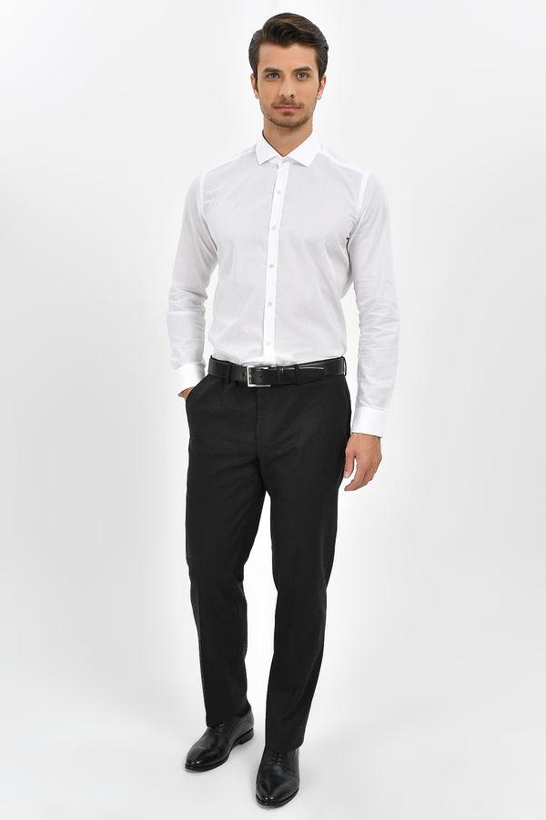 HTML - Beyaz Slim Fit Gömlek (1)