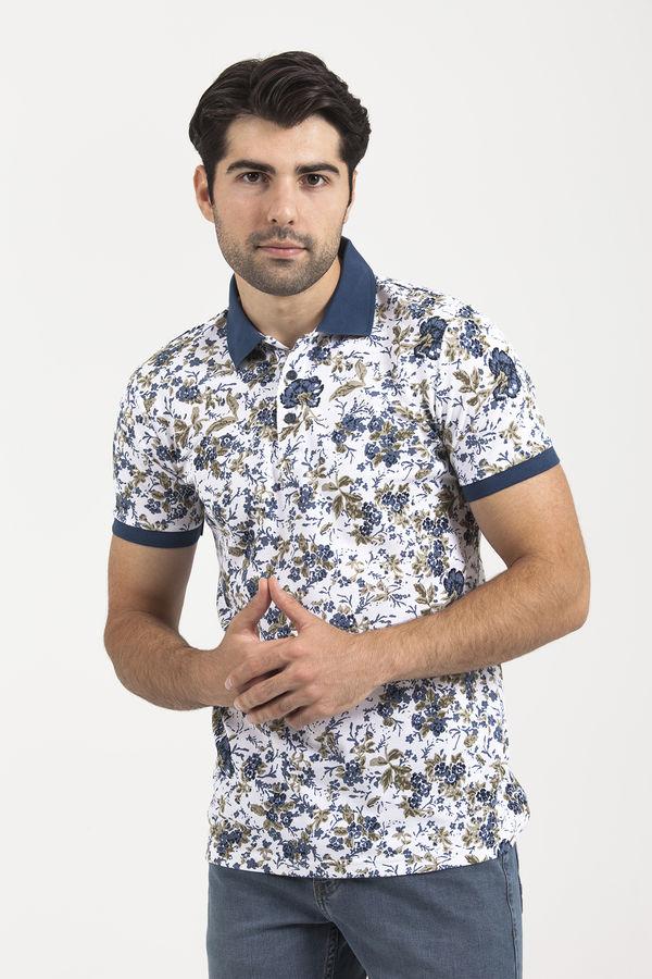 HTML - Beyaz Polo Yaka T-shirt