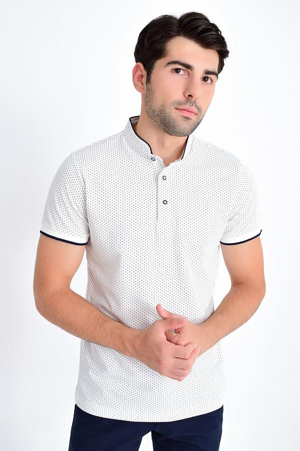 HTML - Beyaz Baskılı Regular T-shirt