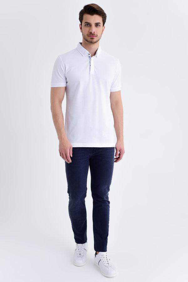 HTML - Beyaz Baskılı Regular T-shirt (1)