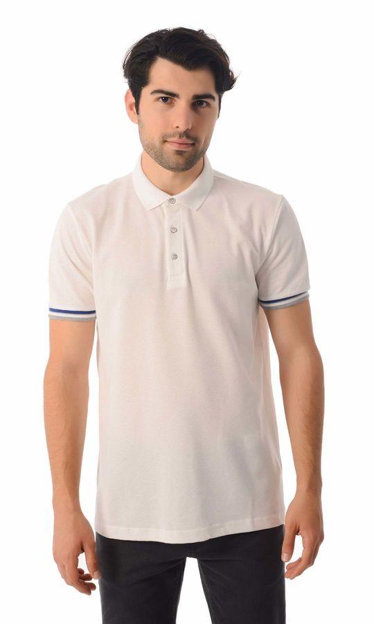 HATEMOĞLU - Beyaz - Desenli Regular T-shirt