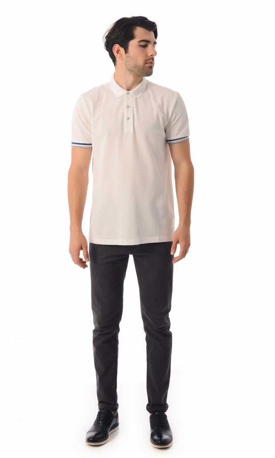HATEMOĞLU - Beyaz - Desenli Regular T-shirt (1)