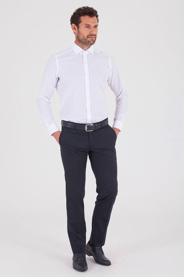 HATEMOĞLU - Beyaz Slim Fit Gömlek (1)