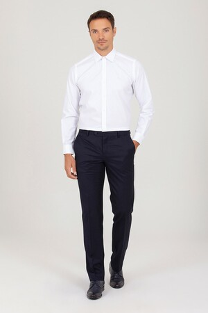 Hatem Saykı - Regular Fit Beyaz Gömlek (1)