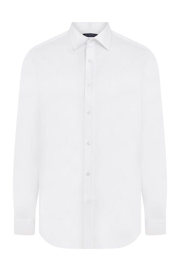 Hatemoğlu - Slim Fit Beyaz Gömlek