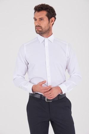 Hatemoğlu - Beyaz Regular Gömlek
