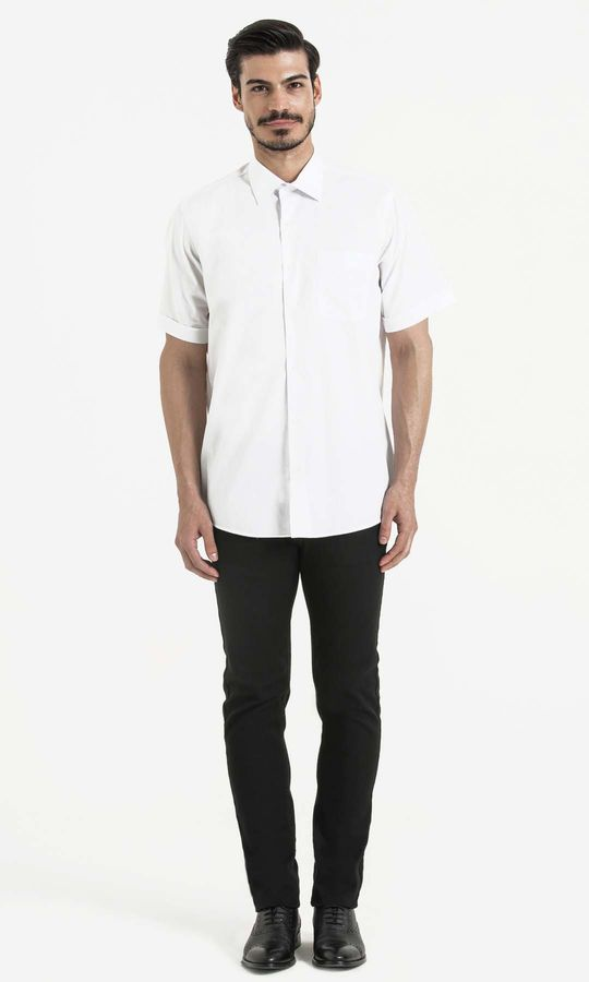 HATEMOĞLU - Beyaz Klasik Gömlek (1)