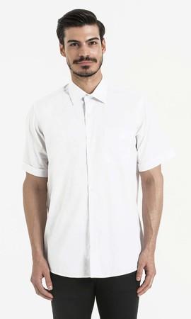 Hatemoğlu - Beyaz Klasik Gömlek