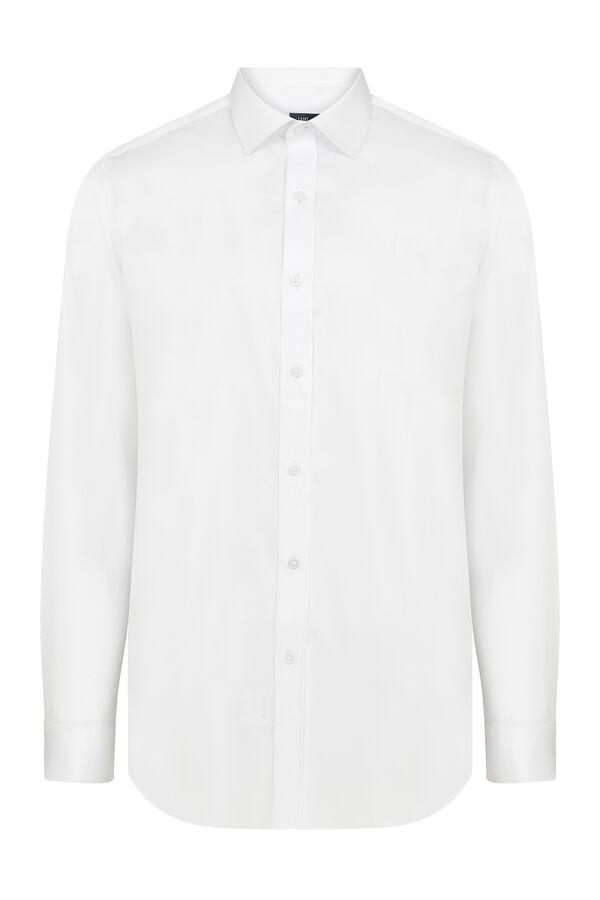 Hatem Saykı - Beyaz Klasik Gömlek