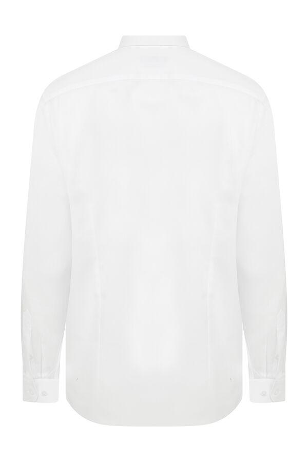 Hatem Saykı - Beyaz Klasik Gömlek (1)