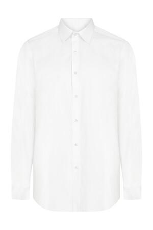 Hatemoğlu - Regular Fit Beyaz Gömlek
