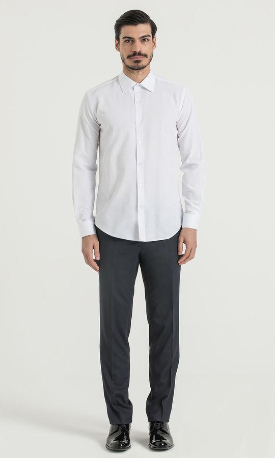 HATEM SAYKI - Beyaz Slim Fit Gömlek (1)
