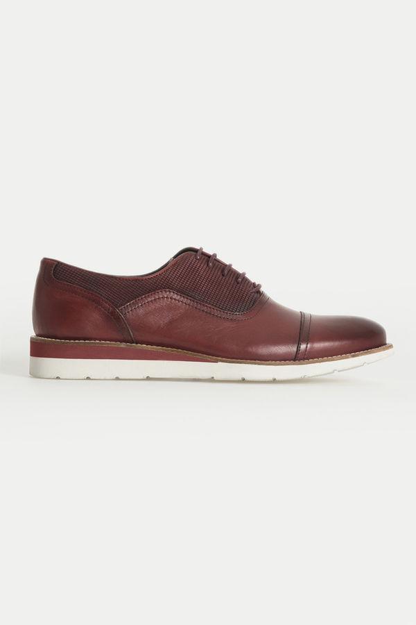 Hatem Saykı - Bordo Günlük Casual Ayakkabı