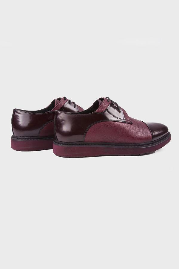 Bordo Günlük Casual Ayakkabı