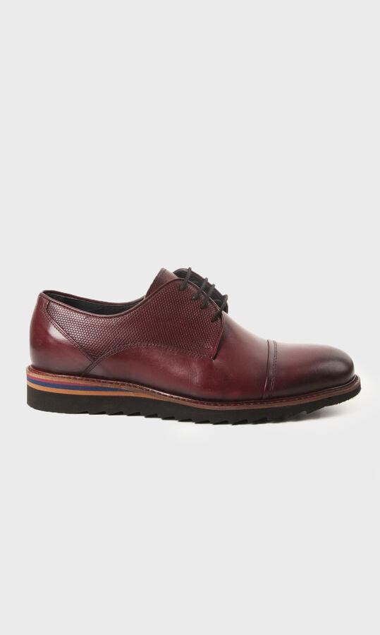 Hatemoğlu - Bordo Klasik Ayakkabı
