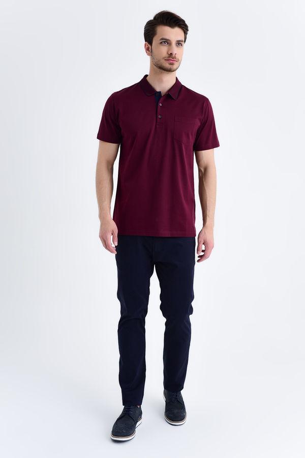 HATEMOĞLU - Bordo - Regular T-shirt (1)