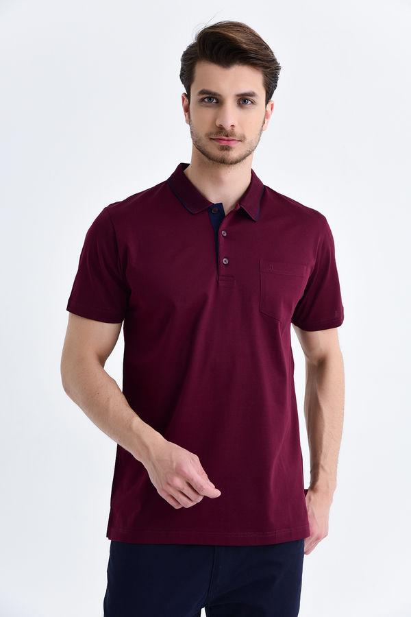 HATEMOĞLU - Bordo - Regular T-shirt