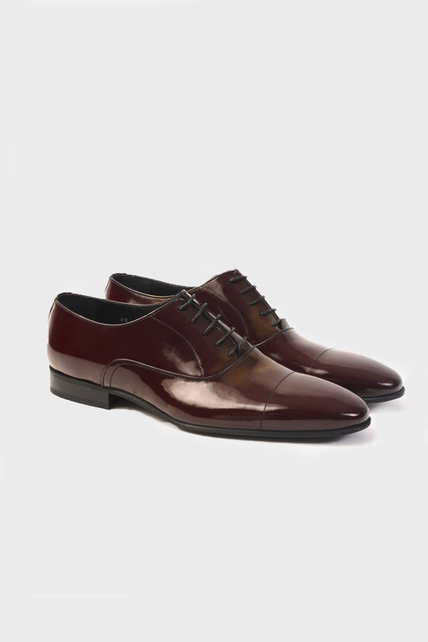 Hatemoğlu - Bordo Klasik Oxford Ayakkabı (1)