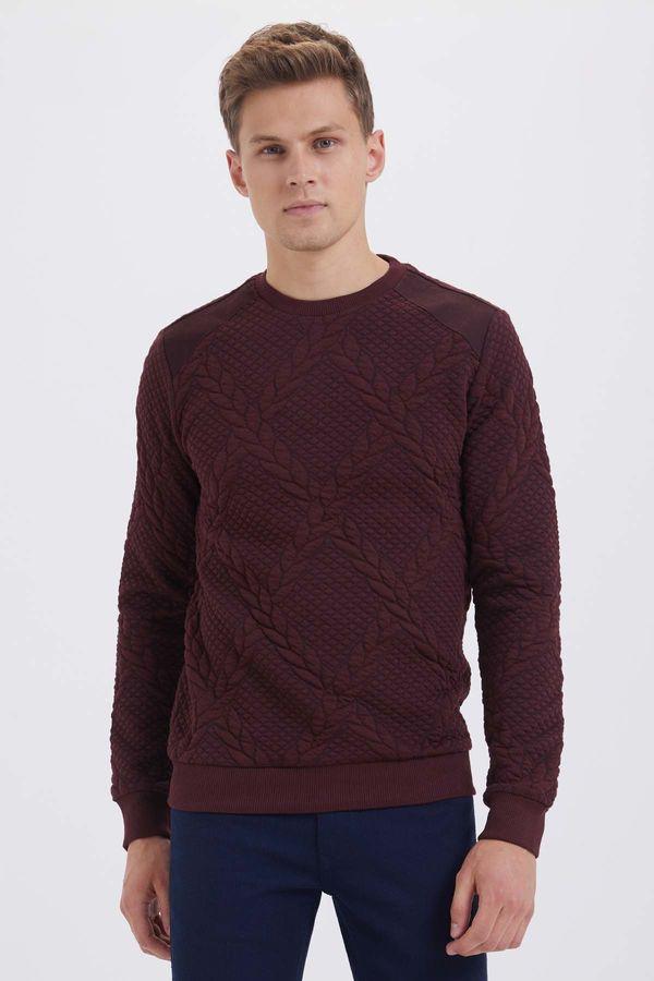 HTML - Bordo Slim Fit Sweatshirt