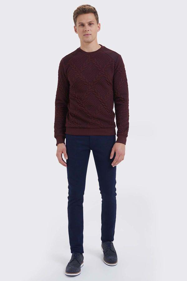 HTML - Bordo Slim Fit Sweatshirt (1)