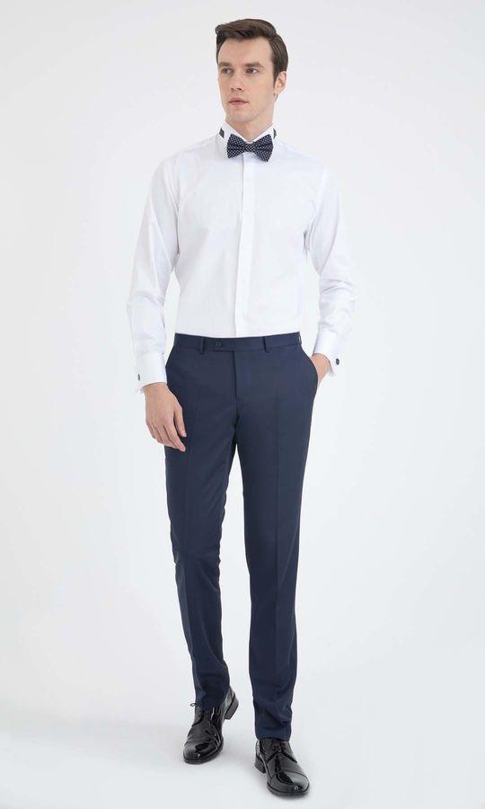 Hatem Saykı - Cerimonia Regular Beyaz Gömlek (1)