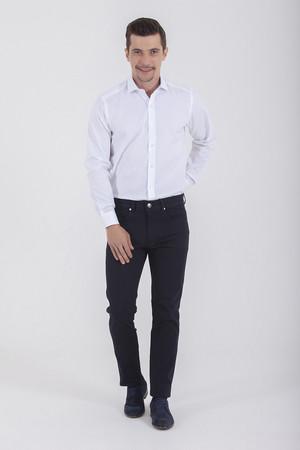Hatem Saykı - Desenli Beyaz Gömlek (1)