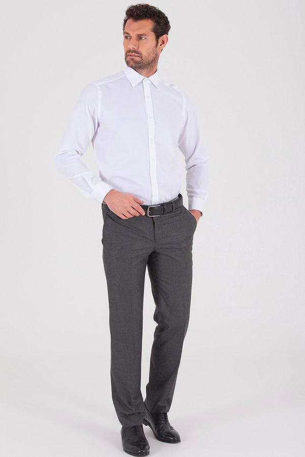 Hatemoğlu - Desenli Dinamik Gri Pantolon (1)