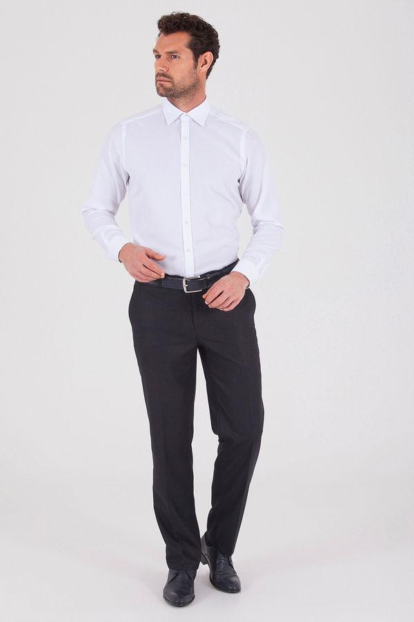 Hatemoğlu - Desenli Dinamik Lacivert Pantolon (1)