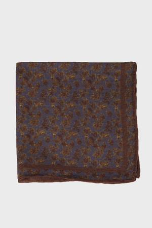 Hatem Saykı - Desenli Kahverengi Mendil (1)