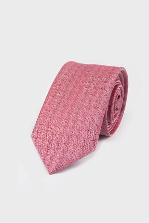 Hatemoğlu - Desenli Kırmızı Kravat