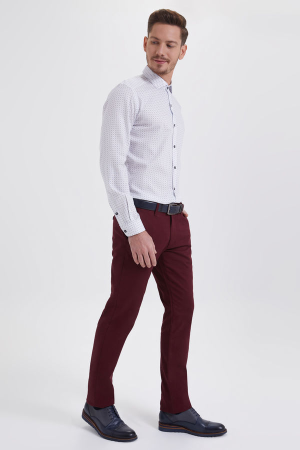 Hatemoğlu - Bordo Regular Fit Spor Pantolon (1)