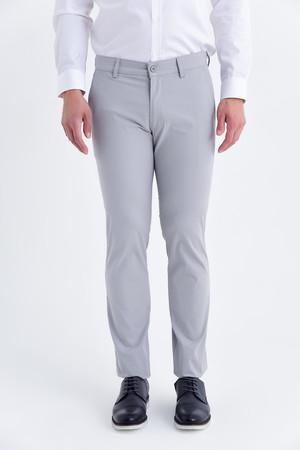 Hatemoğlu - Desenli Regular Gri Pantolon